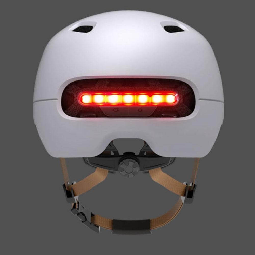 Mounchain Cycling Intelligent Back LED Light EPS Adjustable Breathable Ventilation IPX4 Motorcycle Helmet in Bicycle Helmet from Sports Entertainment