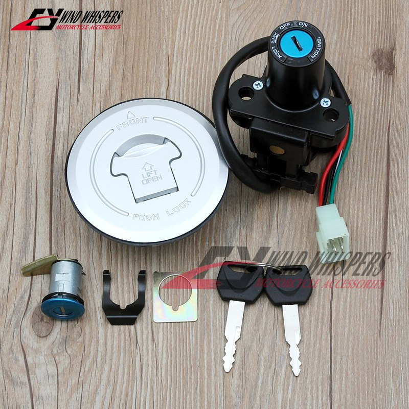 Motorcycle Fuel Gas Cap Ignition Switch Seat Lock Key Kit For Honda CBR250R CBR250 2011-2013 CBR500 CB500 CBR CB 500 2013-2014