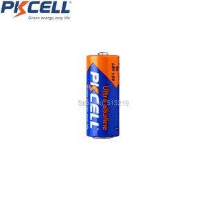 Image 4 - 25PCS PKCELL אולטרה אלקליין סוללות E90 N LR1 MN9100 910A 1.5V גודל N אלקליין סוללה יבש ויסודי סוללות עבור Bluetooth