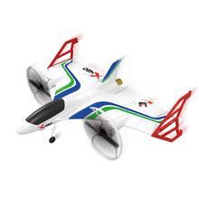 XK X420 2,4G 6CH 420mm 3D6G VTOL Vertical despegue y aterrizaje EPP 3D aerobático FPV RC avión RTF eliminar juguetes de Control