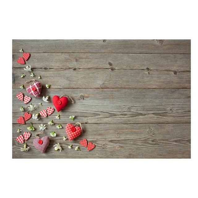 Vintage Love Photography Backdrops Studio Video Festival Photo background Backdrop Paper Board Prop For Food Photo