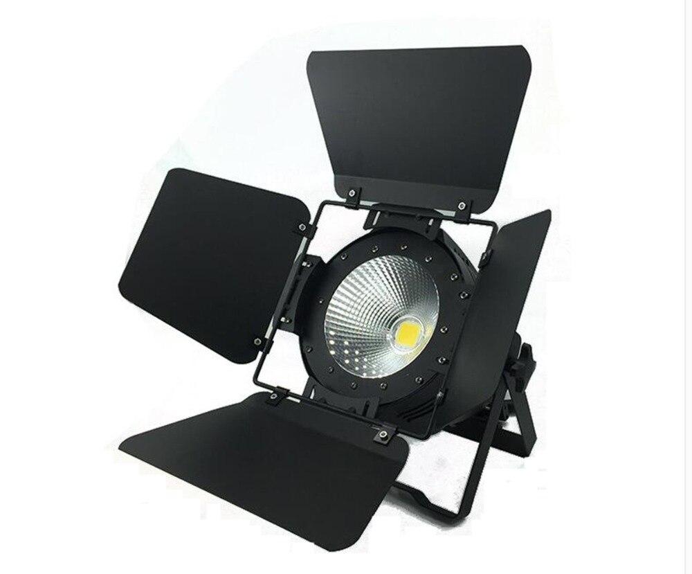 LED COB Par lumière 200W 100W LED par lumière éclairage de scène Clubs Luces Discoteca Disco DJ portes de grange