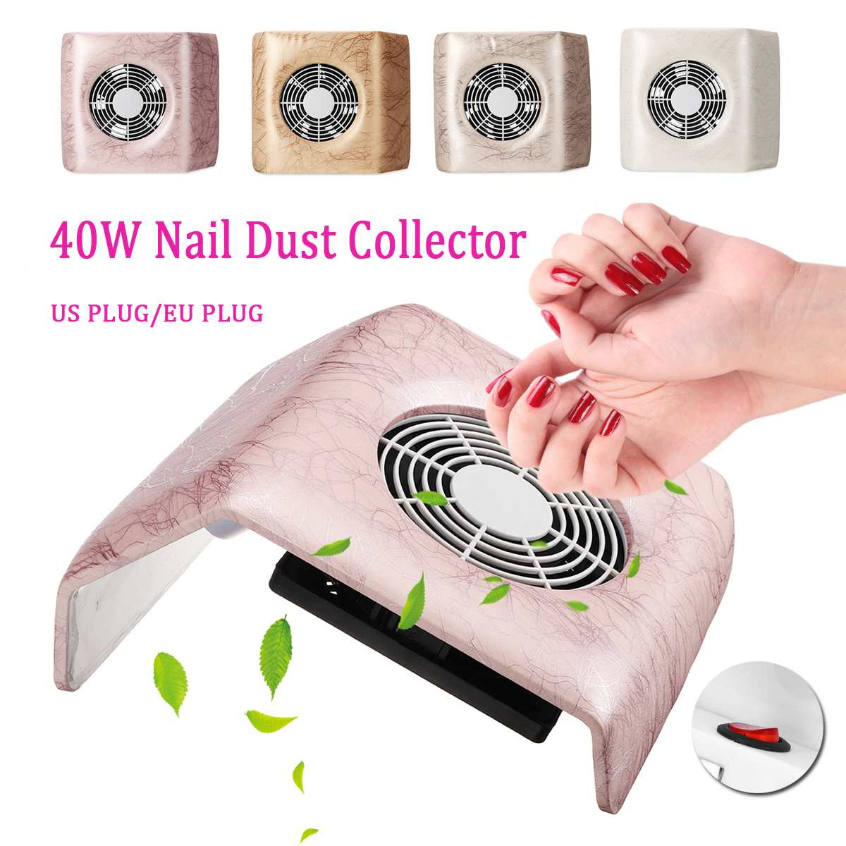 40W Nail Dust Collector Manicure Set Machine UV Gel Nail Polish Cleaner Manicure Tools Vacuum Cleaner For Nail Art Dust Cleaner40W Nail Dust Collector Manicure Set Machine UV Gel Nail Polish Cleaner Manicure Tools Vacuum Cleaner For Nail Art Dust Cleaner
