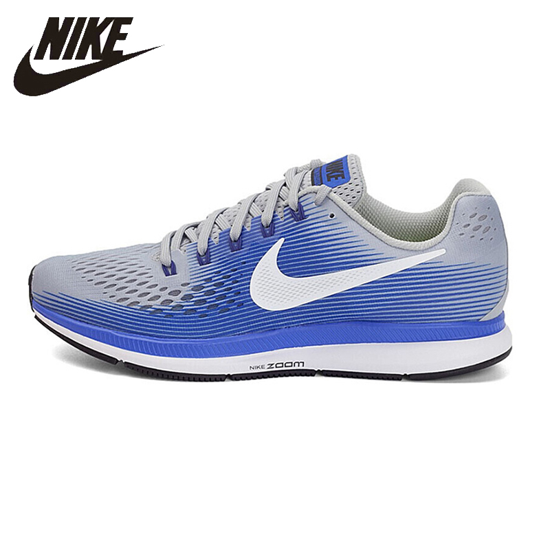low priced 40c9f 63bc2 Nike Original New Arrival AIR ZOOM PEGASUS 34 Men's Running Shoes  Breathable Outdoor Sports Sneakers #880555