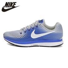 Nike Original nueva llegada aire ZOOM PEGASUS 34 de los hombres zapatos al  aire libre transpirable deportes zapatillas de deport. b57a4fe223c9e