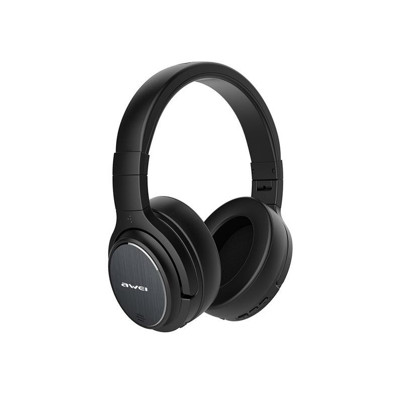 Casque stéréo sans fil à réduction de bruit Active casque Bluetooth casque sport sans fil avec micro