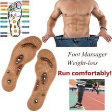 Körper Detox Abnehmen Magnetische Fuß Akupunktur Punkt Therapie Einlegesohle Kissen Massager Acupunctura Schuh Pads Therapie Haut Pflege Werkzeuge Fußpflege-utensil