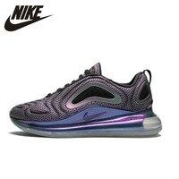 Nike Air Max Новое поступление 720 года для мужчин кроссовки удобные подушка из вентилируемой ткани Спорт на открытом воздухе спортивная обувь #