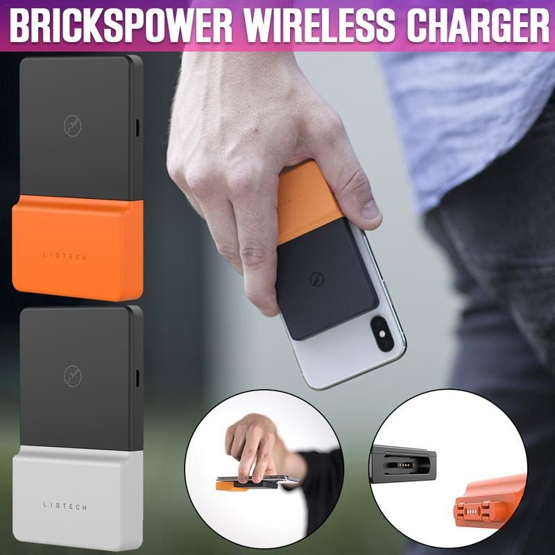BricksPower wireless charger Qi Certified Wireless Charger For iPhone Xs MAX/XR/XS/X/8/8 Plus 5W for Galaxy Note 9/S9/S9 Plus