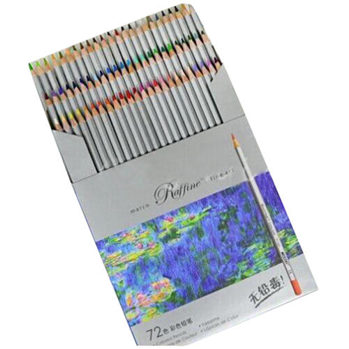Marco Raffine Fine Art Colored Pencils 72 Colors Drawing Sketches Mitsubishi Colour Pencil School Supplies Secret Garde PencilMarco Raffine Fine Art Colored Pencils 72 Colors Drawing Sketches Mitsubishi Colour Pencil School Supplies Secret Garde Pencil