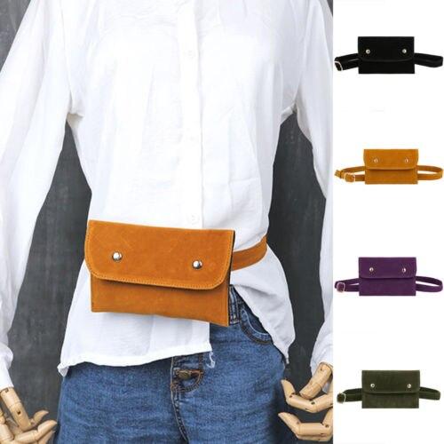 a6878ecf0b64 Fashion Waist Fanny Pack Belt Bag Pouch Travel Hip Bum Bag Women Small  Purse Ladies Fashion Solid Hot Waist Packs