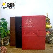 Чехол из кожи для ноутбука A5 Journal 140 листов мягкий дневник записная книжка