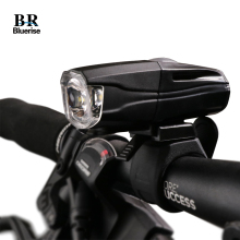 BR Bicycle Rechargeable Front Light 700 Lumen 5-watt White LED Headlight For Bicycle 4 Lighting Mode 4 Flashing Mode Bike Light