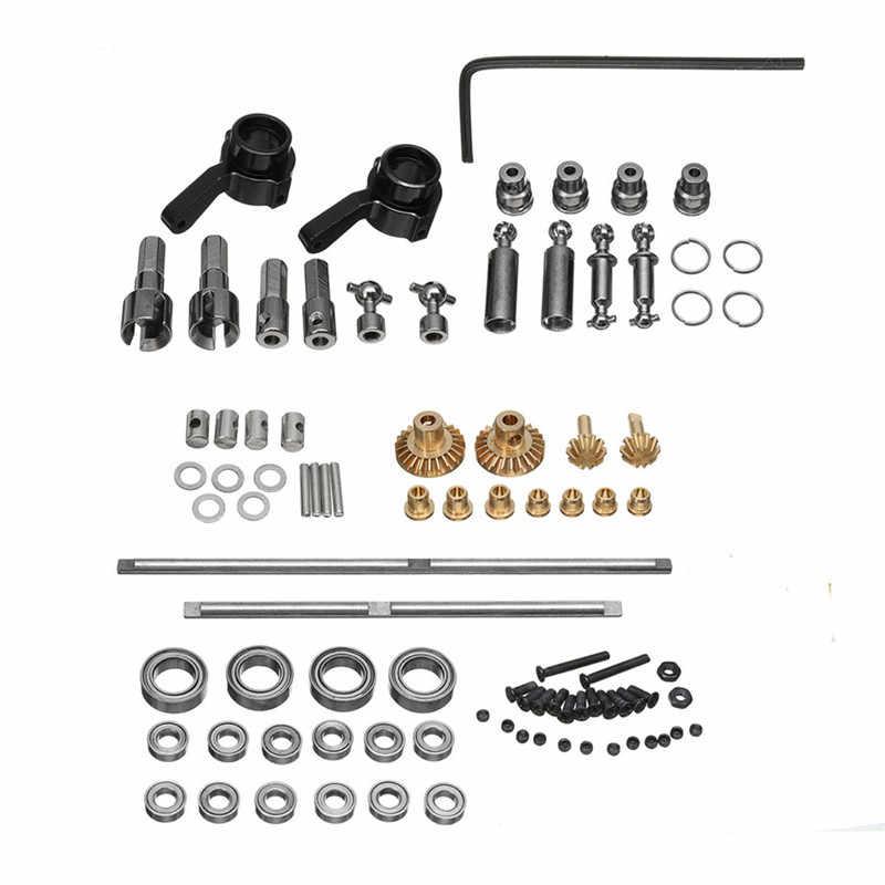 Hoge Kwaliteit WPL RC Auto B1 B14 B24 C14 C24 1/10 Land Cover RC Cars Onderdeel Set Upgrade Metalen OP Accessoire Set Perfect-fit