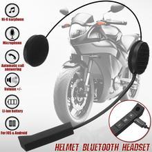 Высокое качество микрофон динамик мотоциклетный шлем гарнитура мягкий аксессуар для мотоцикла домофон работа