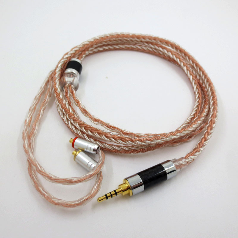 ZSFS 16 Core occ Silver Plated Cable 2.5/3.5/4.4mm Balanced Cable For Shure se215 se315 se425 se535 Se846 ue900 W40 W80 Earphone-in Earphone Accessories from Consumer Electronics on AliExpress - 11.11_Double 11_Singles' Day 1