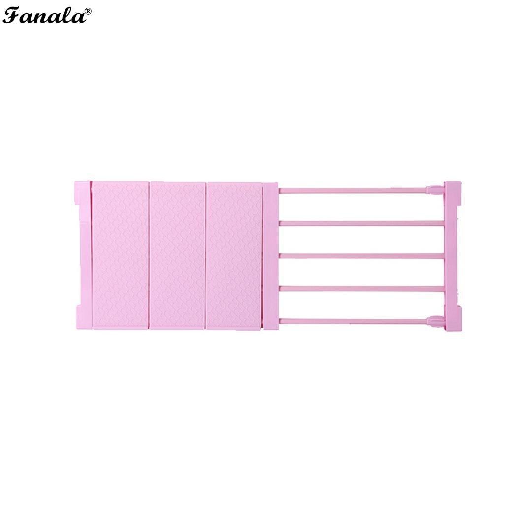 Wardrobe Closet Storage Rack Layered Partition Board Telescopic Shelf Bedroom, Kitchen, Bathroom, etc