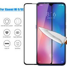 XINDIMAN 3D Curved tempered glass film for xiaomi9 9H 2.5D Full screen protector for xiaomi 9 protective film black color цена