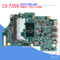 For Dell Inspiron 13 7359 DDR3L 14275 1 REV:A00 Intel i7 6500 Laptop Motherboard