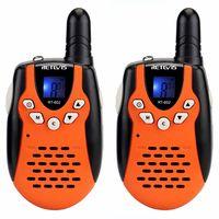 RETEVIS 2pcs Children Walkie Talkie For Kids RT602 0.5W PMR 8/22CH PTT Flashlight Rechargeable Battery Mini 2 Way Radio RT 602