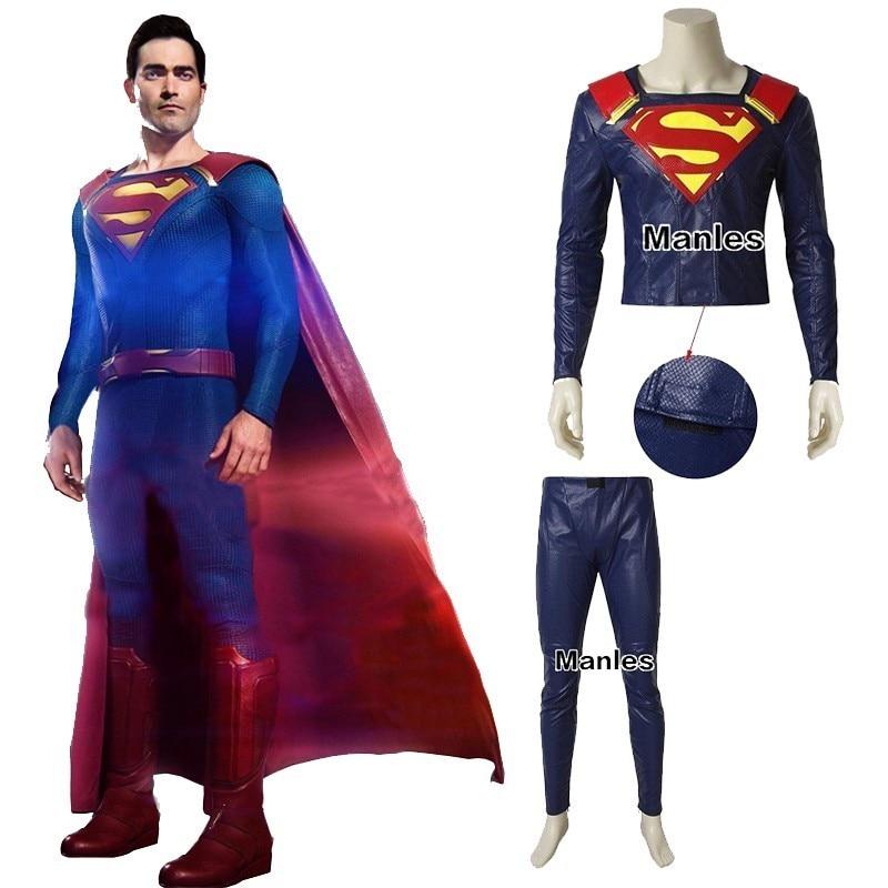 Marvel Superman Cosplay Women/'s Supergirl Cosplay Halloween Costume Cos Full Set