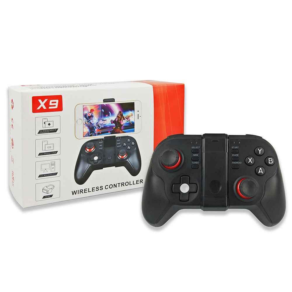 X9 игра Управление; Смарт Беспроводной джойстик Bluetooth android геймпад игровой пульт дистанционного управления Управление телефон для IOS android телефон планшет
