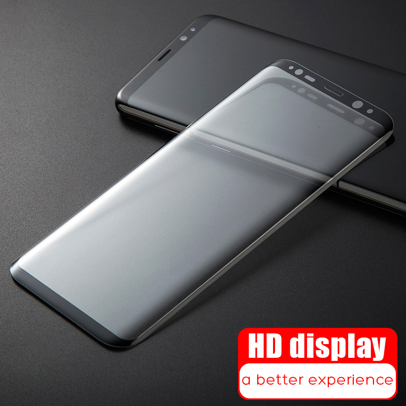 9D Full Cover Tempered Glass On The For Samsung Galaxy S8 S9 Plus Note 8 9 Screen Protector For Samsung S7 S6 Edge Glass Film