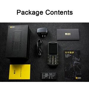 Image 5 - Original AGM M2 russe clavier IP68 étanche antichoc robuste téléphone portable double SIM FM lampe de poche 1970mAh téléphone portable