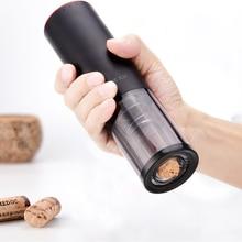 Новинка USB Автоматическая электрическая открывалка для бутылок красного вина барные инструменты для вина штопор открывалка для бутылок фольга резак аксессуары