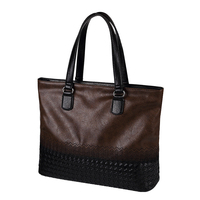 Simple Famous Brand Business Men Briefcase Bag Luxury PU Leather Laptop Bag Man Shoulder Bag bolsa maleta Male Messenger Handbag