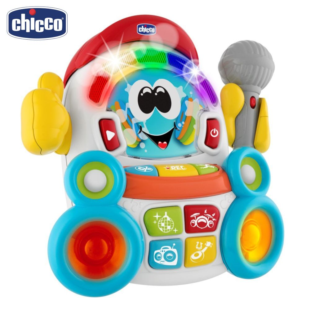 Vocal Toys Chicco 100005 Electronic toy Singing Baby Music for boys and girls electronic walking pet robot dog puppy baby friend toy gift with music light