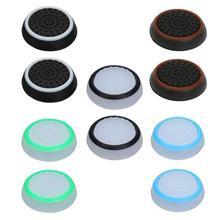 VKTECH 2 pcs Anti Skid Botão Game Controller Joystick Caps para PS4/PS3/Tampas de Botão de Controle Xbox Gamepad protege O Seu Controlador
