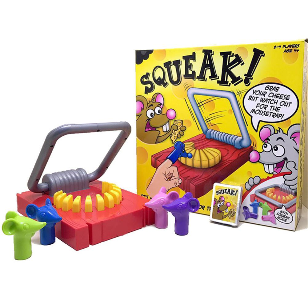 Mousetrap Shape Hand Biting Tabletop Game Parent-Child Interaction Puzzle Toy Party Games Children Funny Toys Friendly Ship Toys