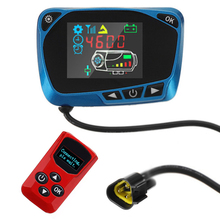 12V/24V LCD Monitor Switch Remote Control Kit For Diesels Air Heater