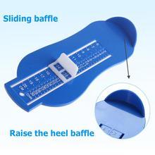 Регулируемая шкала размер обуви длина стопы линейка детские ноги измерительный инструмент Дети точные весы запись длина стопы