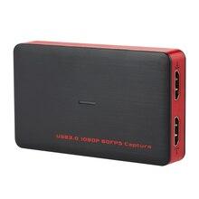 Ezcap USB 3,0 HD видео игра захват 1080P видео конвертер Live Sreaming Plug and Play HD вход выход для xbox One PS4 Windows