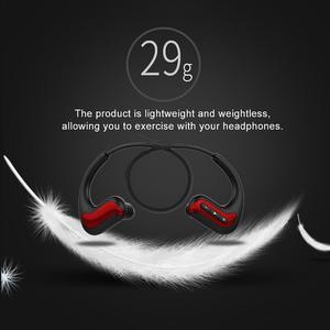 Image 5 - المحمولة سماعات لاسلكية BluetoothWaterproof رئيس شنت الرياضة السباحة تشغيل سماعات الأذن ستيريو 4D Hd جهاز الصوت مع Mic