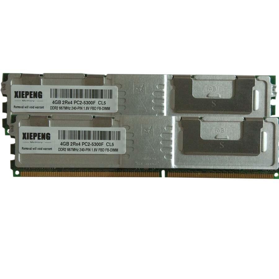 2X4GB FOR HP WORKSTATION XW6400 XW6600 XW8400 XW8600 8GB