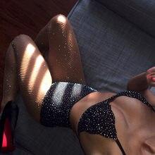 2018 Sexy Lace Diamond Lingerie Bralette Bras for Women Nightwear Underwear  Tops Bottom G-string 0417817bb5ce