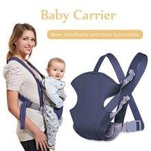 Новый детский рюкзак регулируемая малыш новорожденных Перевозчик безопасности 360 четыре позиции поясной ремень мягкие детские слинг Хип сиденья