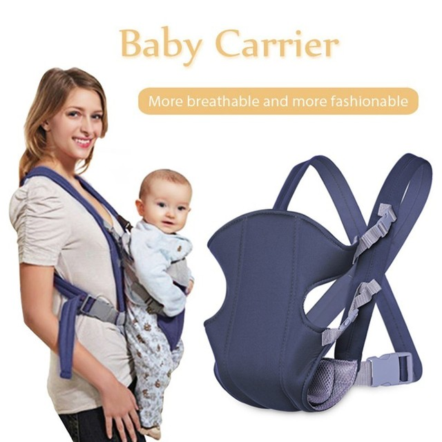 New Infant Backpack Adjustable Baby Toddler Newborn Safety Carrier 360 Four Position Lap Strap Soft Baby Sling Carriers Hip Seat
