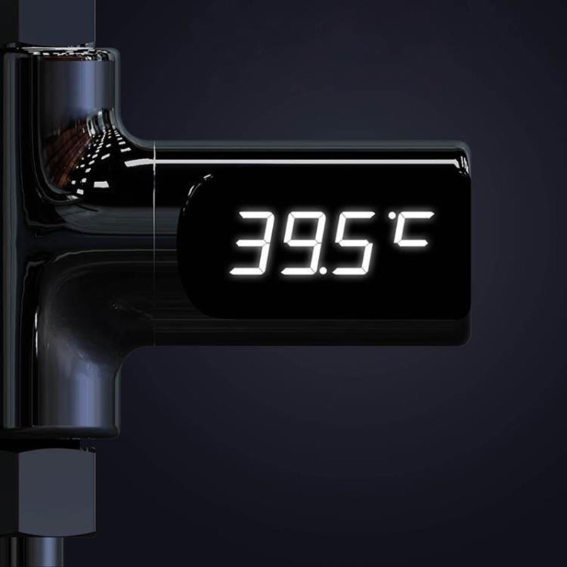 Image 5 - Digital LED Display Water Faucet Cartridges With Thermometer Self  Generating Electricity Water Temperature Monitor For Baby CareFaucet  Cartridges