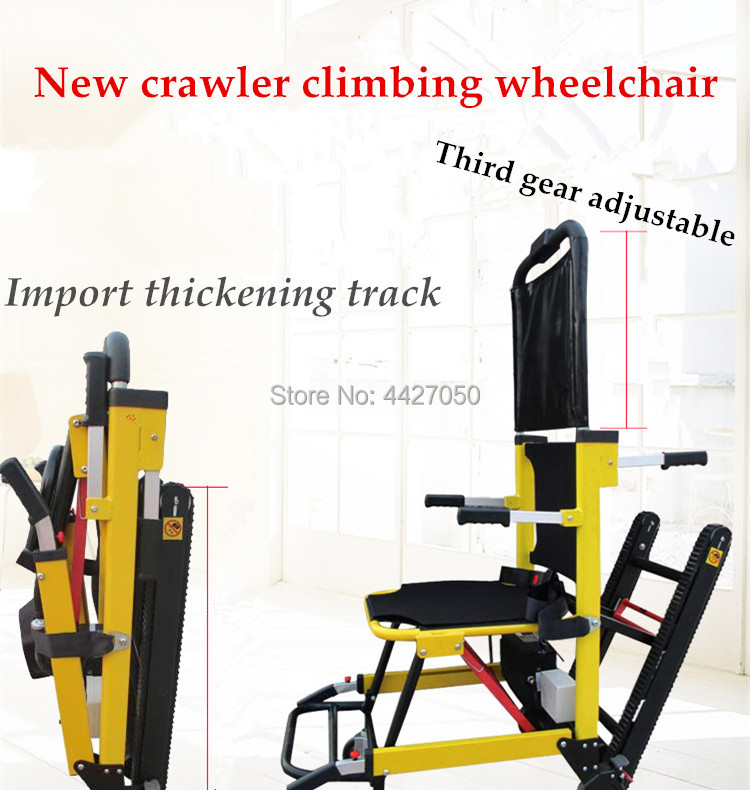 2019 Hot selling Automatic stair climbing wheelchair go up and down stairs for disabled
