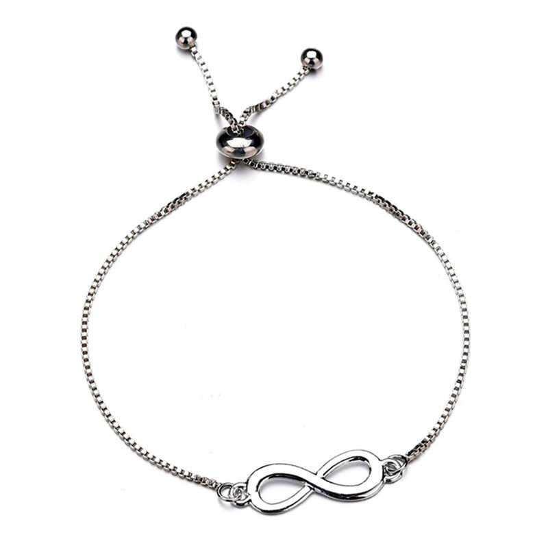 Hot Infinity Charm Bracelet For