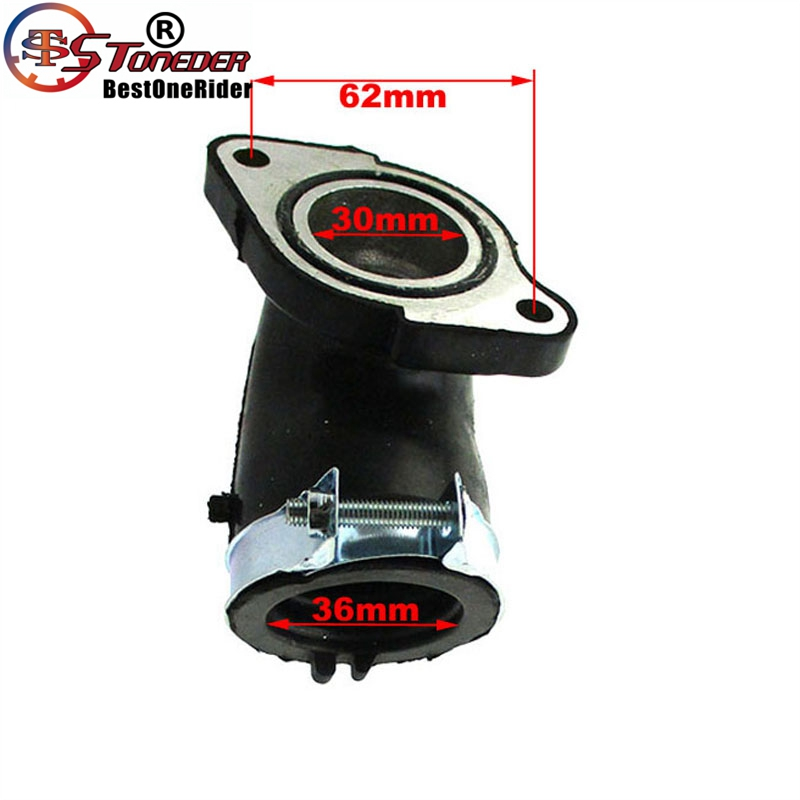 Intake Manifold Boot Part 260cc 300cc Yamaha Scooter Moped ATV Quad UTV GO Karts