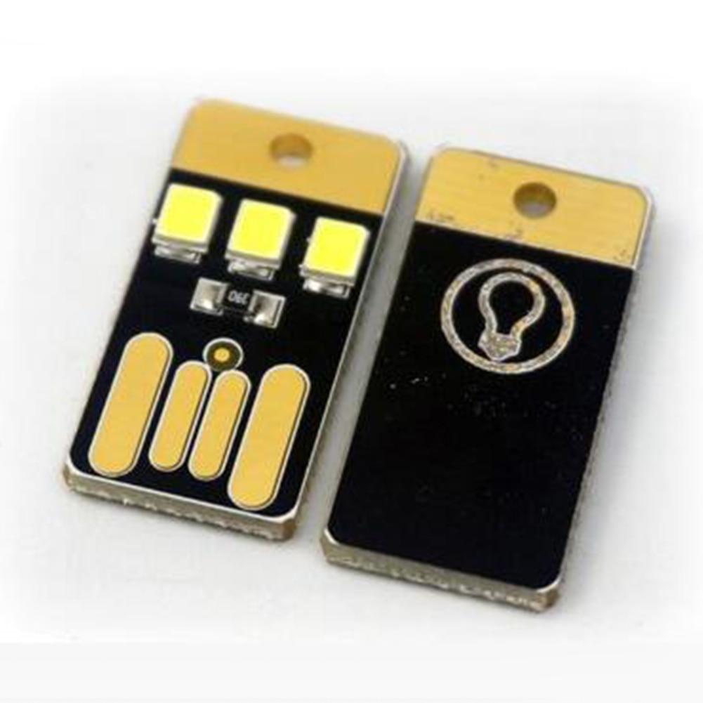 1pc Mini Slim Mobile USB LED Lamp Small Lights Portable USB Outdoor Camping Lamp Baby Night Light #917