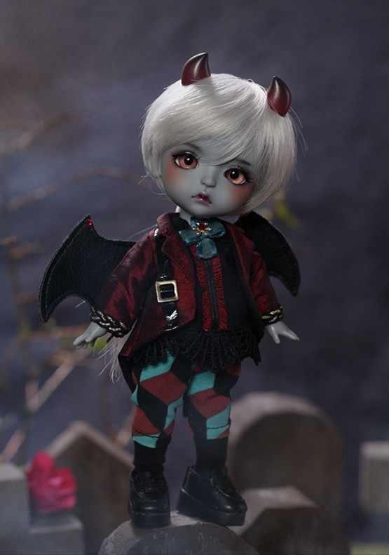 VER. Lea [Neraka Anak] 1/8 Boneka BJD/SD Fashion Model Boneka Yang Indah untuk Bayi Gadis Ulang Tahun Hadiah Gratis acak Eyesf untuk Mainan Anak Laki-laki