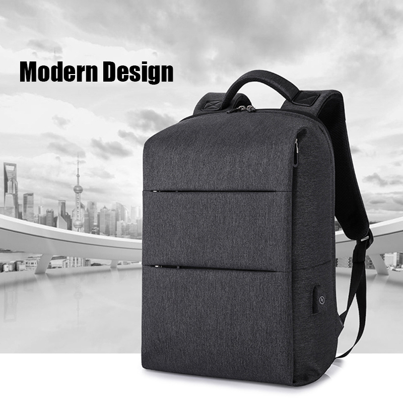 Laptop Bag 15 6 Notebook Bags with USB Charging Port Anti Theft Computer Backpacks for Hp