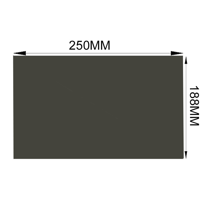 Free Shipping New 12 1 4 3 45 degree 135 degree Matte Glossy 250M 188MM LCD
