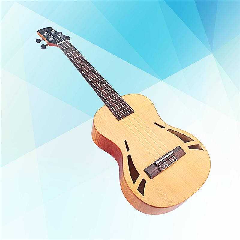 1Pc 4 Strings Compact 26 Inch Guitar Hawaiian Fretboard Rosewood Maple Bridge Ukelele Tenor Stringed Mini Guitar Instrument1Pc 4 Strings Compact 26 Inch Guitar Hawaiian Fretboard Rosewood Maple Bridge Ukelele Tenor Stringed Mini Guitar Instrument